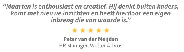 Review Peter van der Meijden